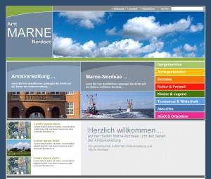 Amt Marne Nordsee