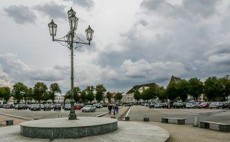 Marktplatz in Heide